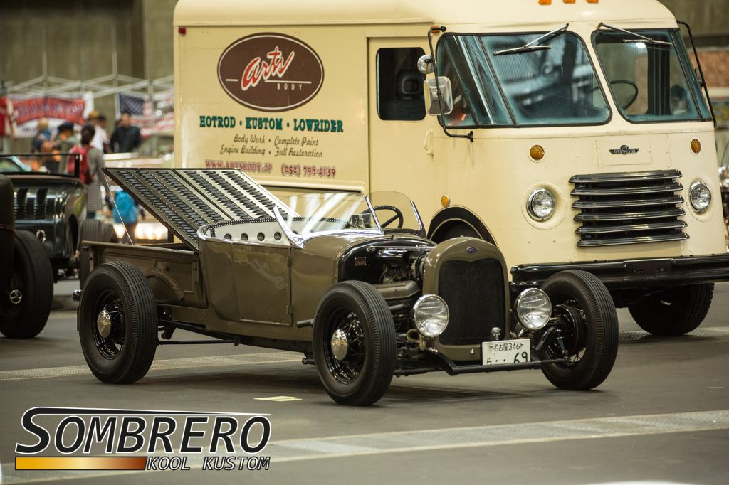 1926 Ford Model T Roadster Pick-up, DuVall Windshield