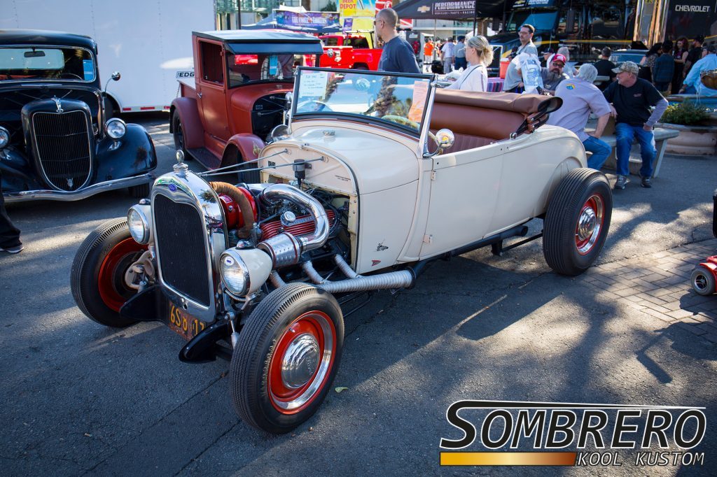 1928-29 Ford Model A Roadster, Studebaker V8 mit Kompressor