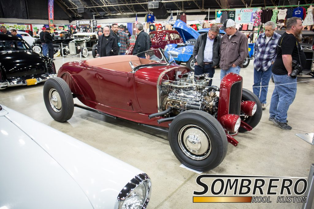 1928-29 Ford Model A Roadster, Pontiac V8, 1932 Ford Rahmen, Firestone Blackwalls, Hot Rod