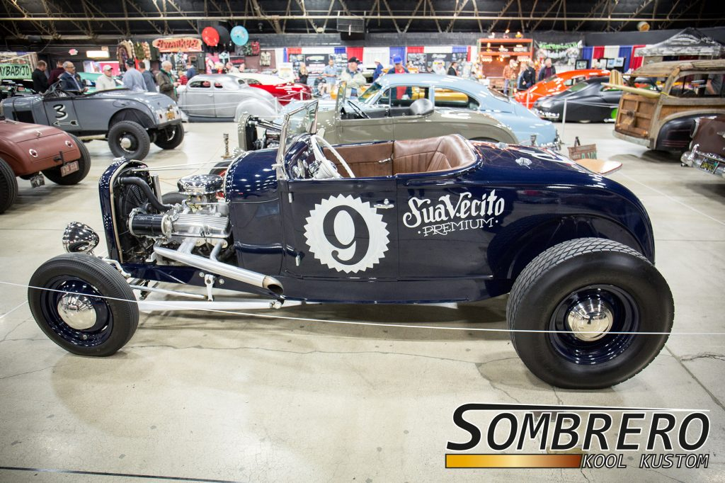 1928-29 Ford Model A Roadster, Chevy Smallblock V8, SuaveCito Pomade, Hot Rod