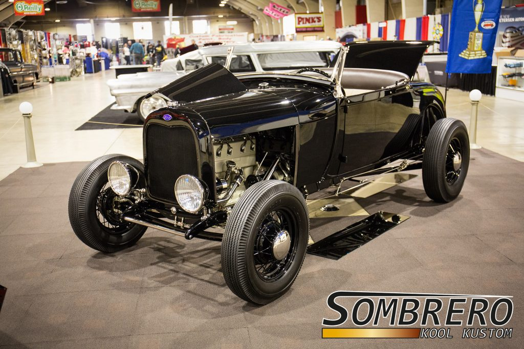 The Muroc Roadster, 1928 Ford Model A Roadster, 1932 Ford Model B 4-Zylinder, 4-banger, Miller Overhead Conversion