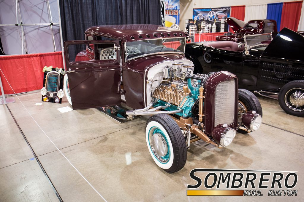 1931 Ford Model A Coupé, Skratchs Garage, Lincoln Flathead