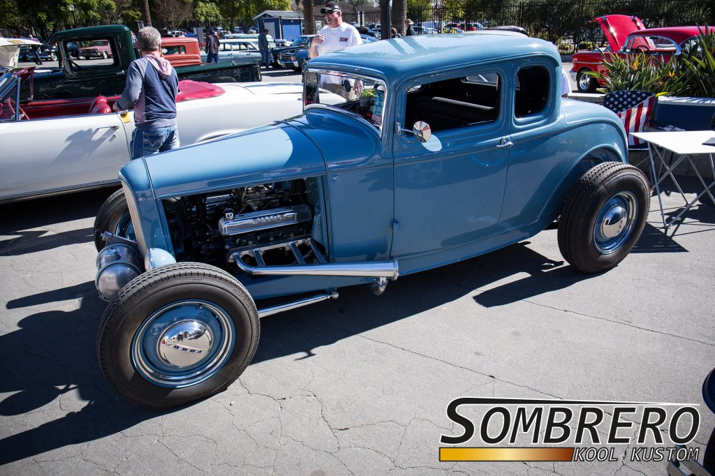 1932 Ford 5-Window Coupé, Deuce Coupé, Buick Nailhead V8, Top Chop
