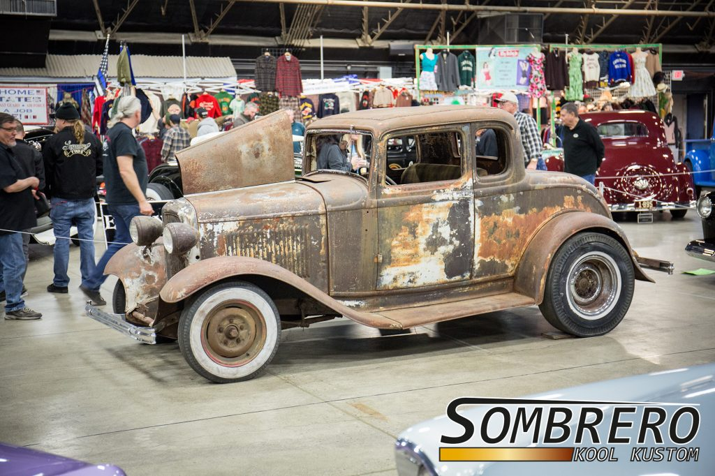 1932 Ford 5-Window Coupé, Survivor Hot Rod, Patina