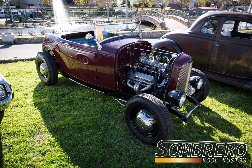 1932 Ford Roadster, Chevrolet V8, Smallblock, Tri-Power