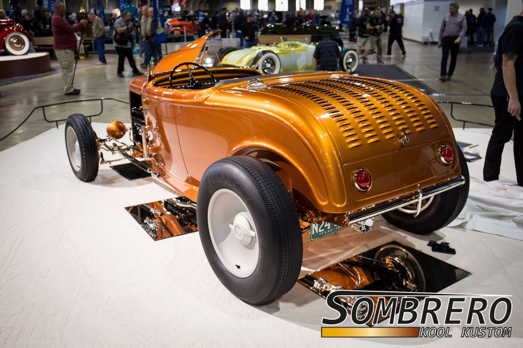 1932 Ford Roadster, Hot Rod, Hiboy, Austin Speed Shop, Hill Country Flyer, 1950 Pontiac Rücklichter, Louvers