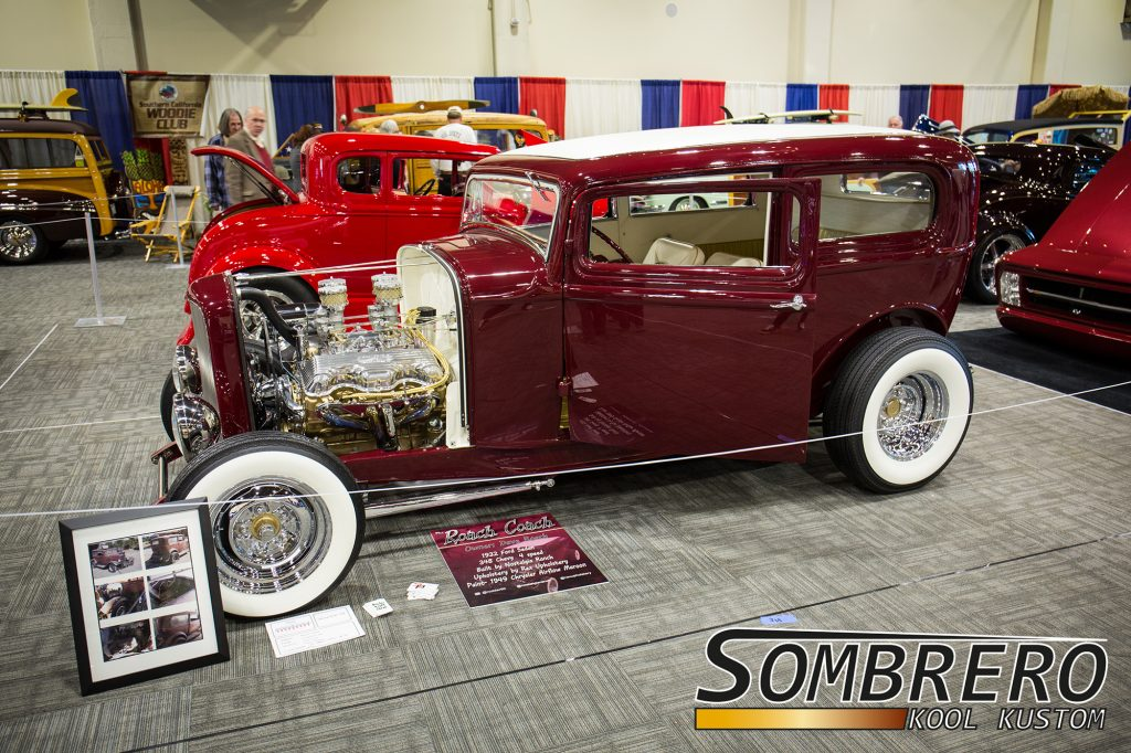 1932 Ford Tudor Sedan, Rex Upholstery, Hot Rod