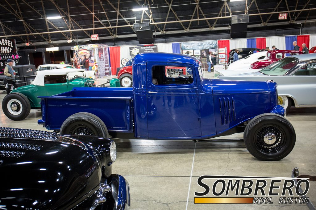 1934 Chevrolet Pick-up, Fenderless, Hot Rod