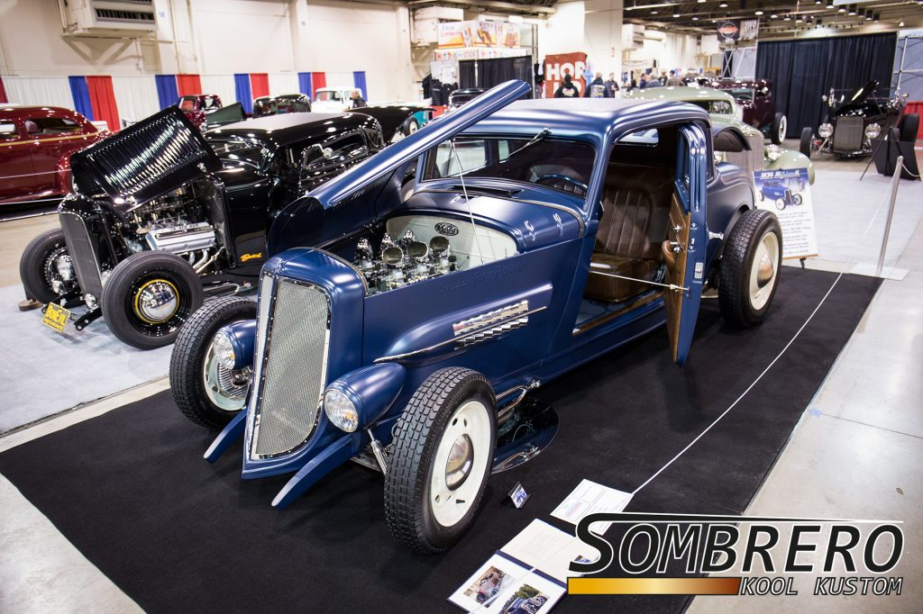 1934 Plymouth 5-Window Coupé, Top Chop, Channeling, Hal Barrows, Lee Baxter, 392 Hemi V8, TKO 500