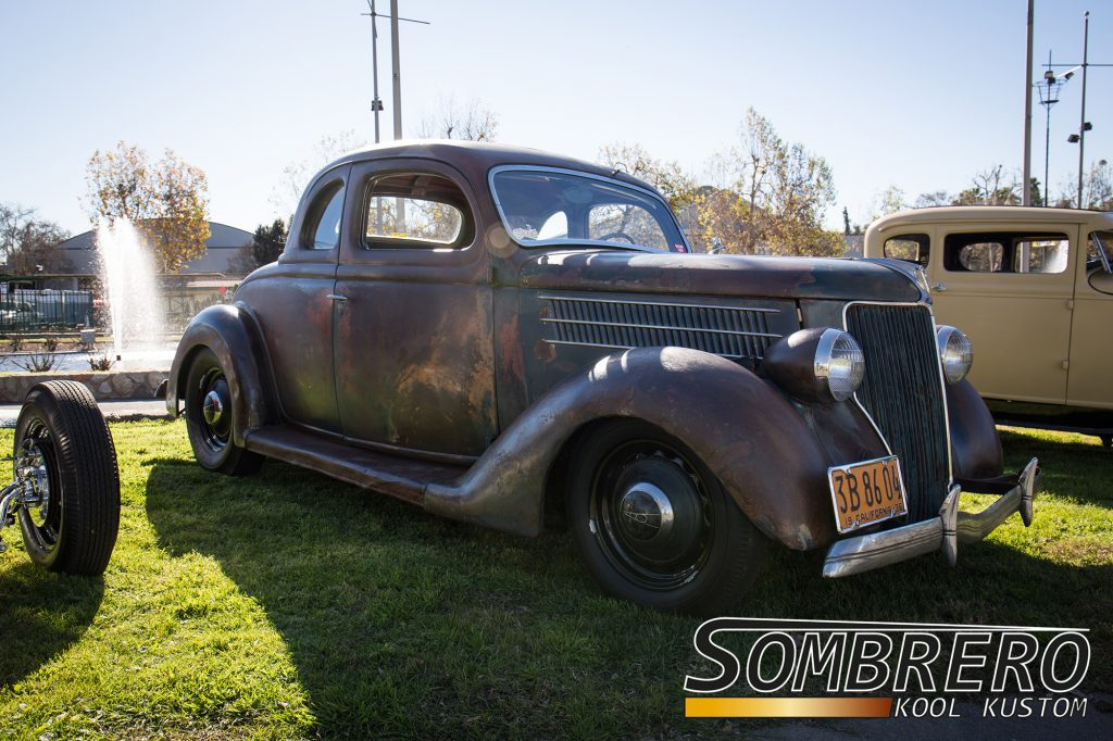 1936 Ford 5-Window Coupé, Patina