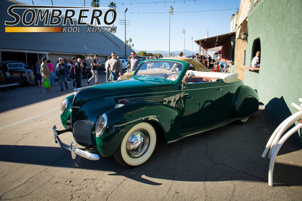 1938 Lincoln Zephyr Convertible, Kustom Car