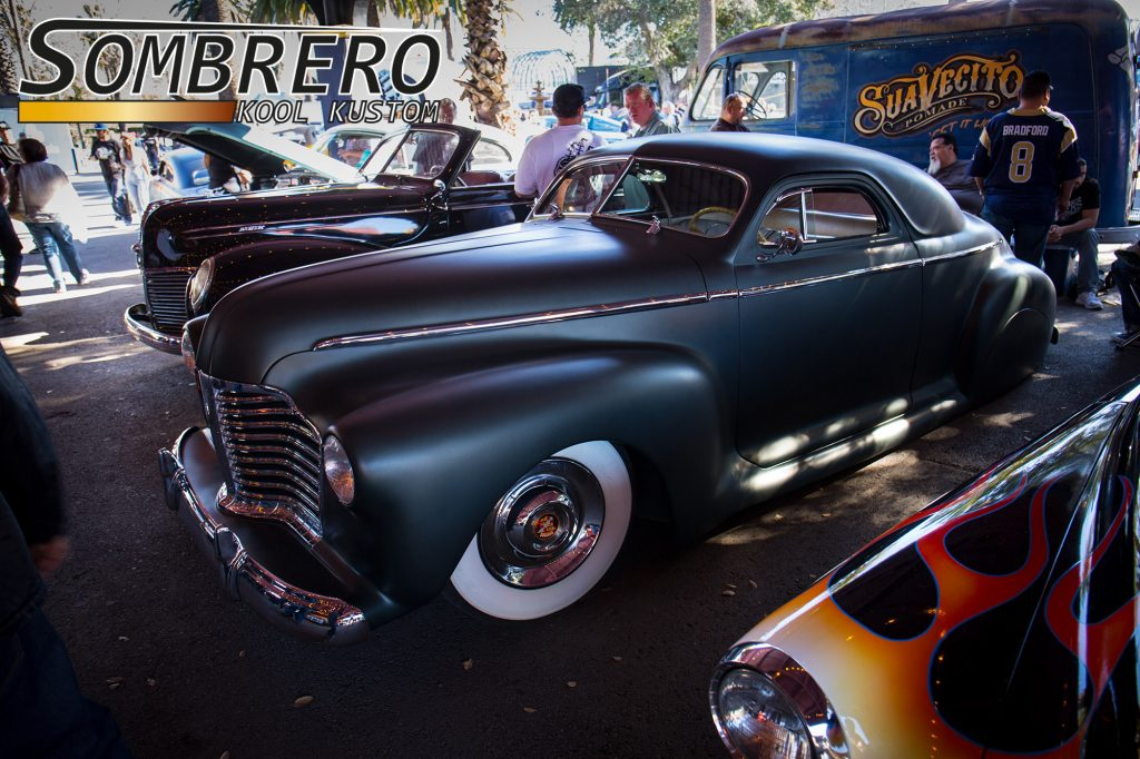 1941 Buick Coupé, Top Chop, Wide Whites