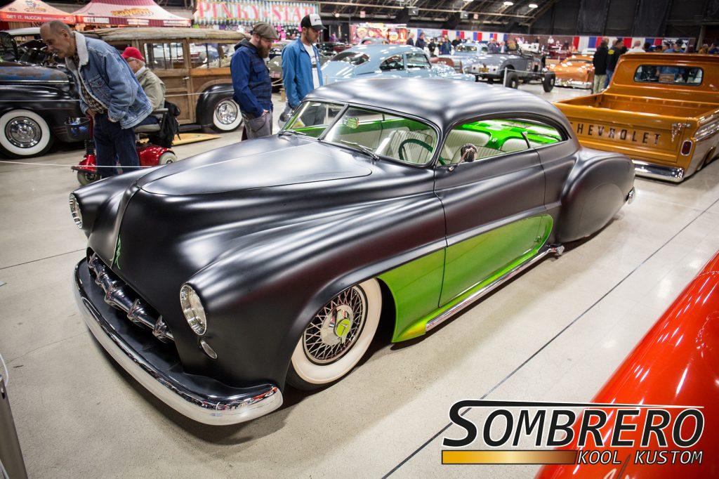 1949-52 Chevrolet Fleetline, Kustom Car, Top Chop, Hardtop Conversion, Shaved, Nosed, Decked