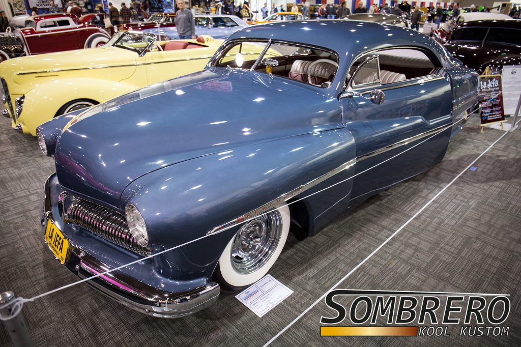 1950 Mercury 4-Door Sedan, La Jefa, Ja Strudwick, Southend Kustom, Kid Dean