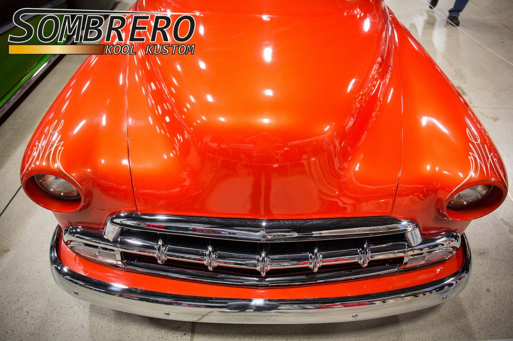 1951 Chevrolet Fleetline, 9 Lives, Beto Rojas, Nosed Hood
