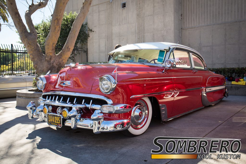 1954 Chevrolet Bel Air 2dr Sedan, Bomb Life CC, Lowrider