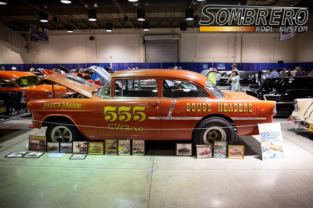1955 Chevrolet 2dr Sedan, Gasser, Survivor, Chevy Power, Modern Rod, Popular Hot Rodding