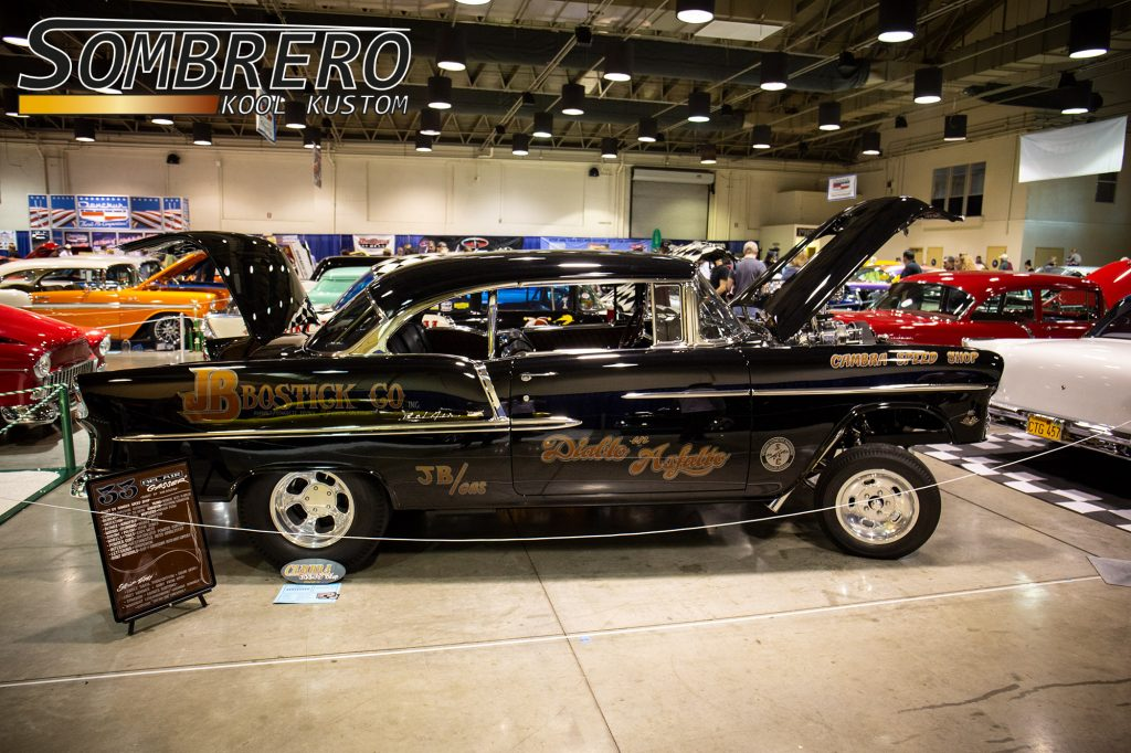 1955 Chevrolet Bel Air 2dr Hardtop Coupé, Gasser, Jim Bostick, Cambra Speed Shop