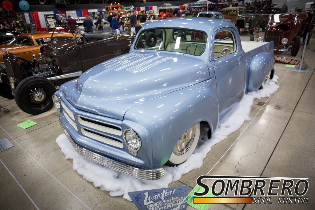 1955 Studebaker Pick-up, Lunatone, Kustom Car