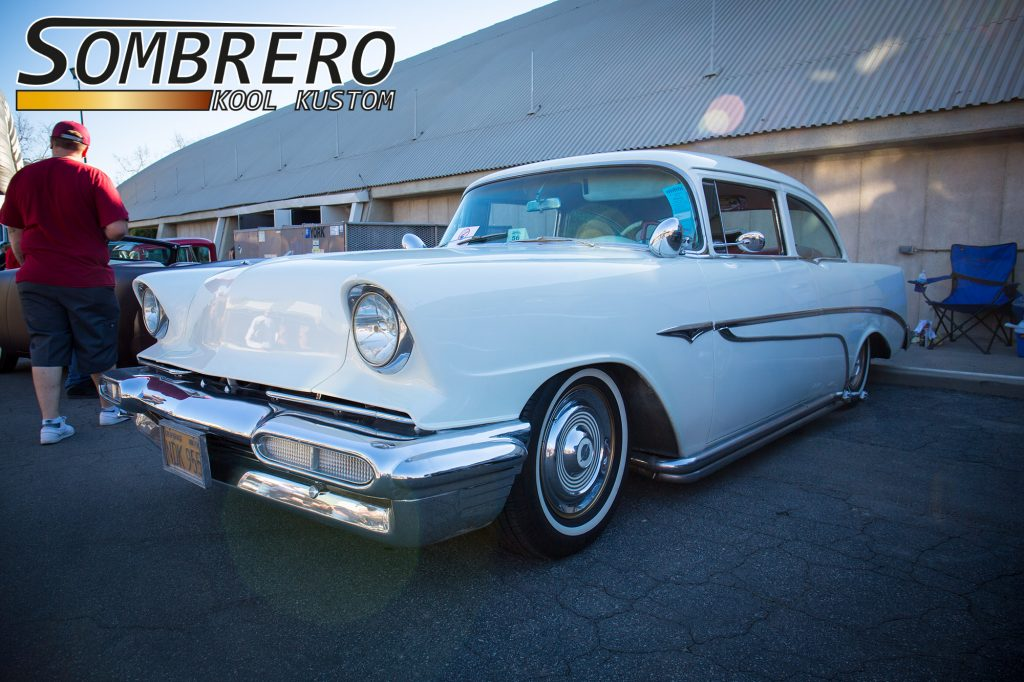 1956 Chevrolet Bel Air, Kustom Car, Oldsmobile Zierleisten, 1956 Lincoln Stoßstange