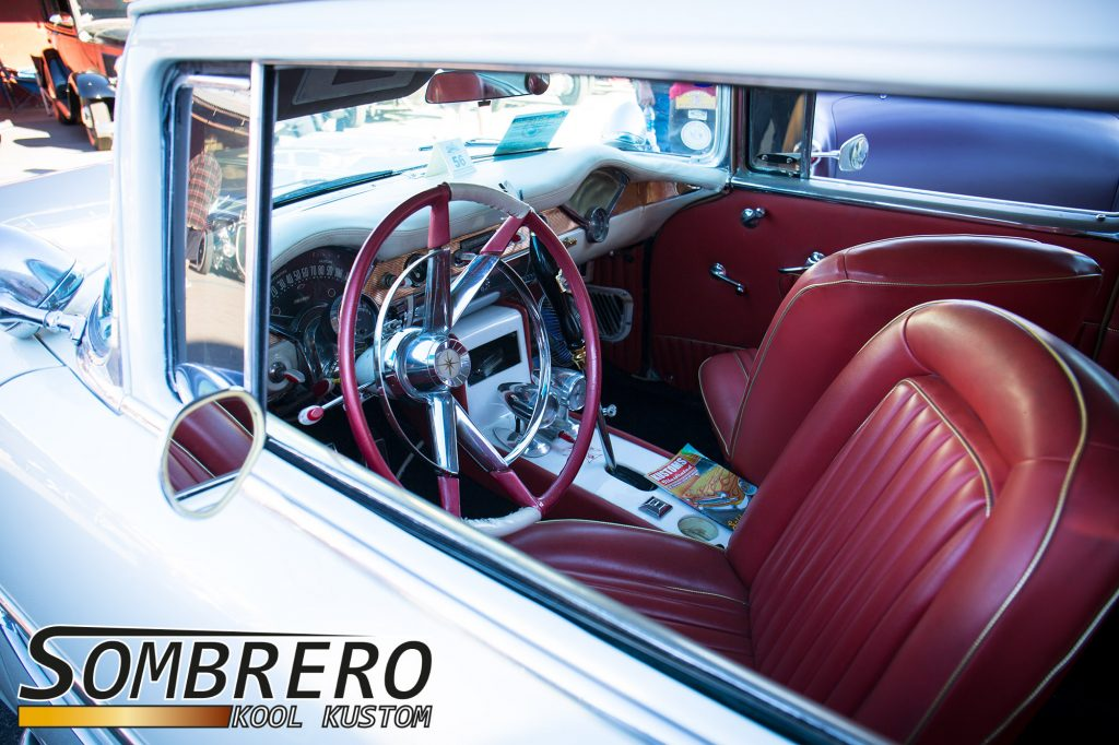 1956 Chevrolet Bel Air 2dr Sedan, Swivel Seats