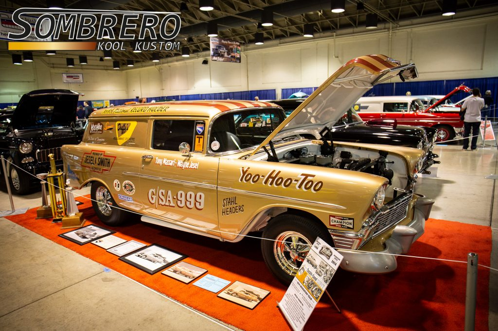 1956 Chevrolet Sedan Delivery, Tony Massari, Wayne Jesel, Yoo-Hoo-Too, Gasser