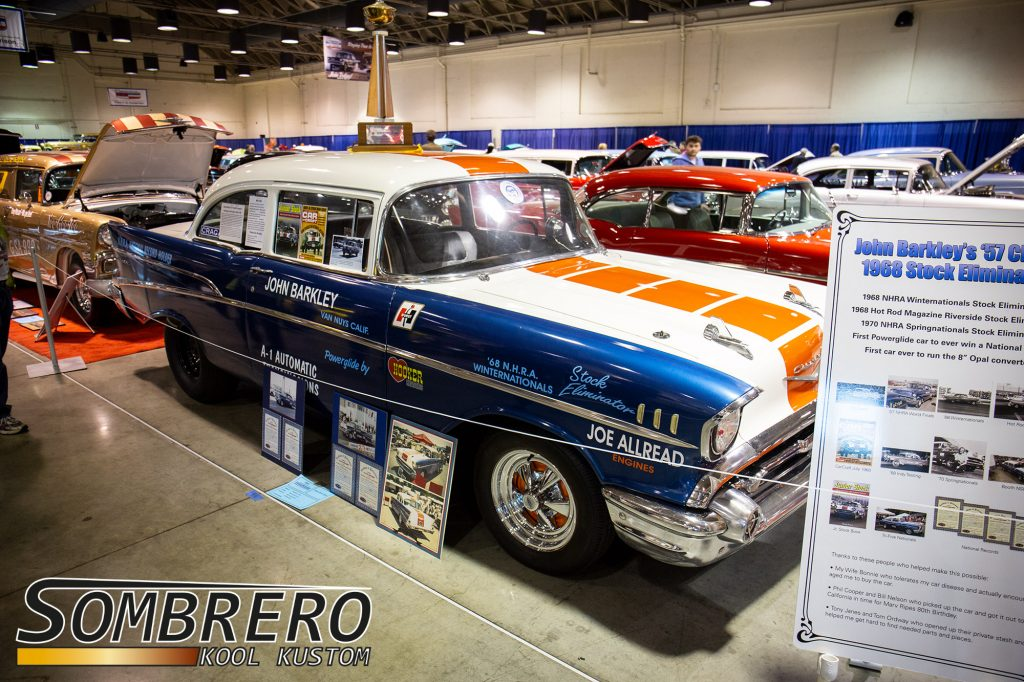 1957 Chevrolet 210 2dr Sedan, John Barkley, Stock Eliminator, Race Car