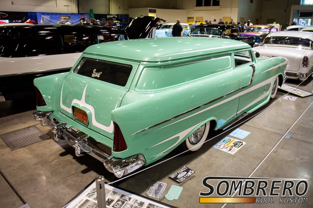 1957 Chevrolet Sedan Delivery, Top Chop, Kustom Car, West Coast Kustoms
