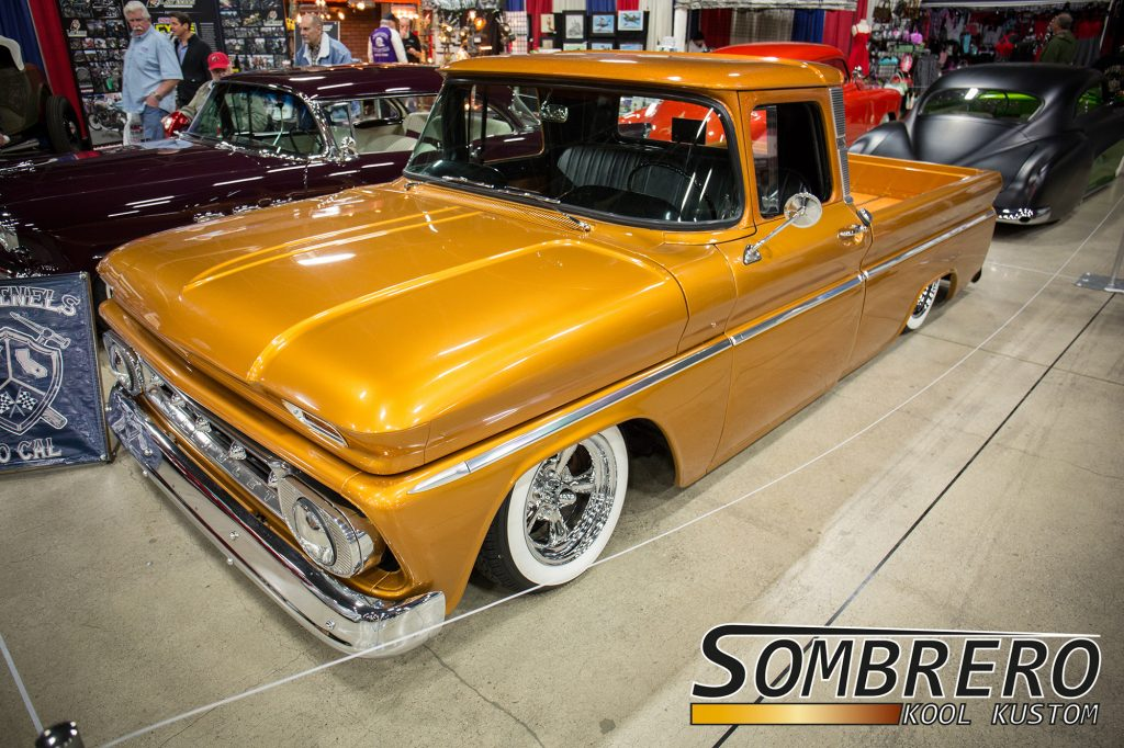 1962 Chevrolet C10 Pick-up, Fleetside, Astro Supremes, Wide Whites