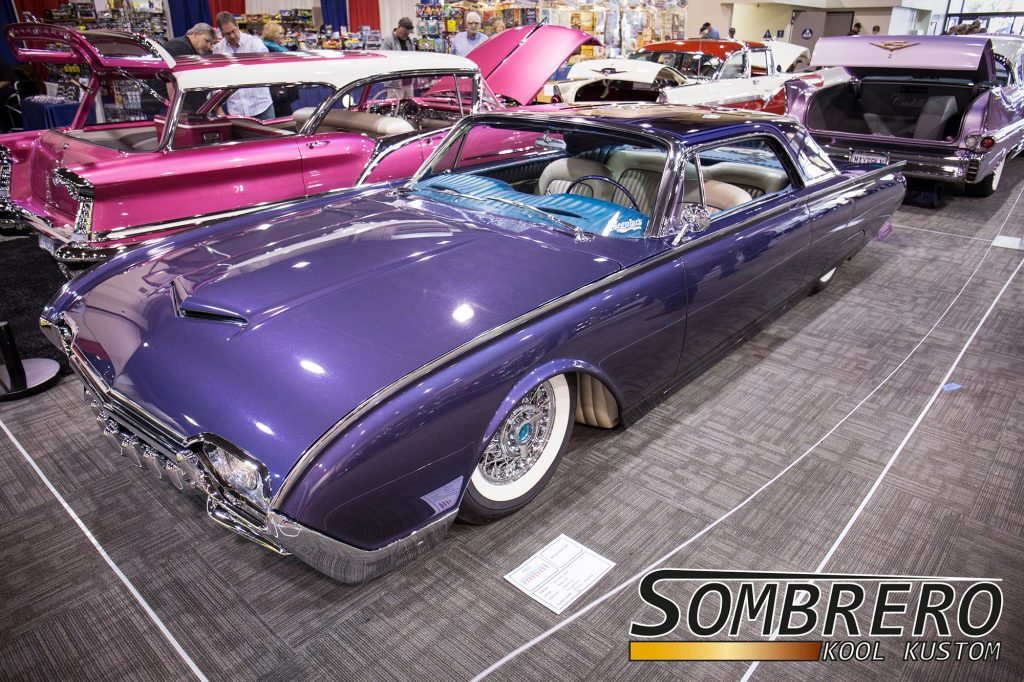 1962 Ford Thunderbird, Ultra Violet, John Lemoine, Top Chop, Kustom Car