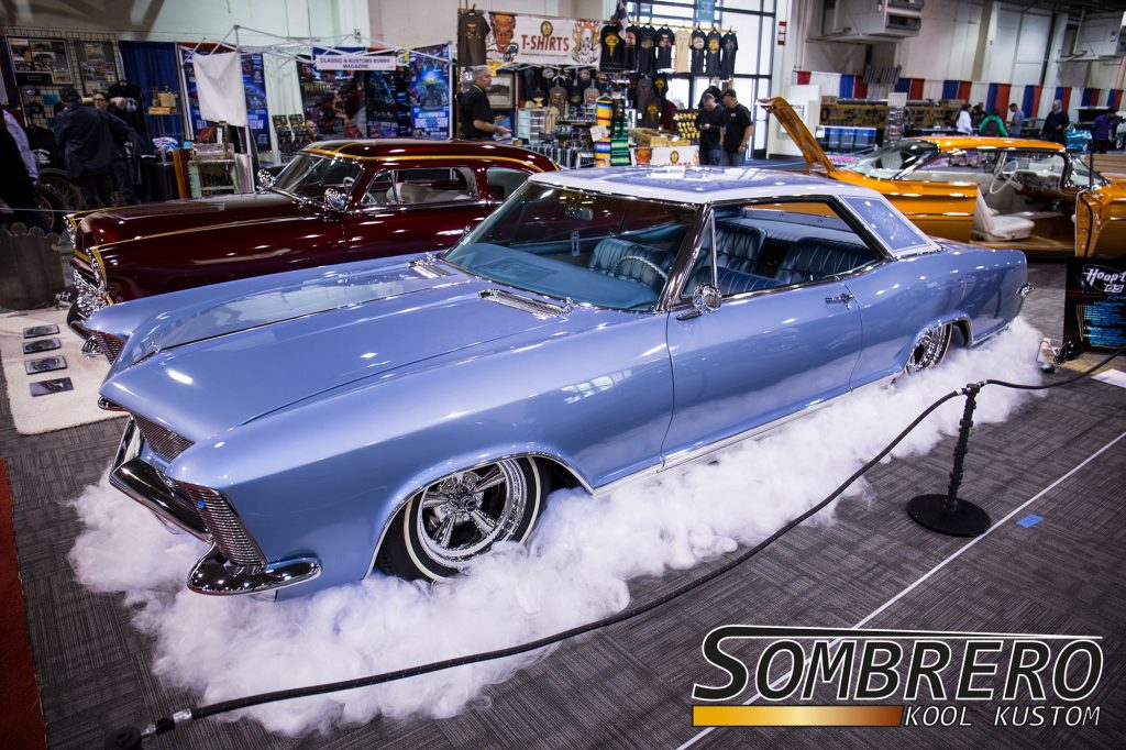 1965 Buick Riviera 2dr Hardtop Coupé, Astro Supreme, 5-Spokes, Skinny Whites, Hoop-T, Leslie Koyama Carlson