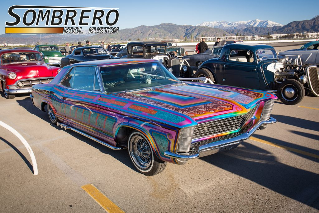 1965 Buick Riviera, Ralph Ascencio, Rumblers CC, Flames, Panels, Laces, Fadings, Candy, Metalflake