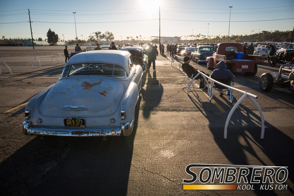 GNRS 2017 Drive-In Day, Sonnenaufgang in Pomona, Kalifornien
