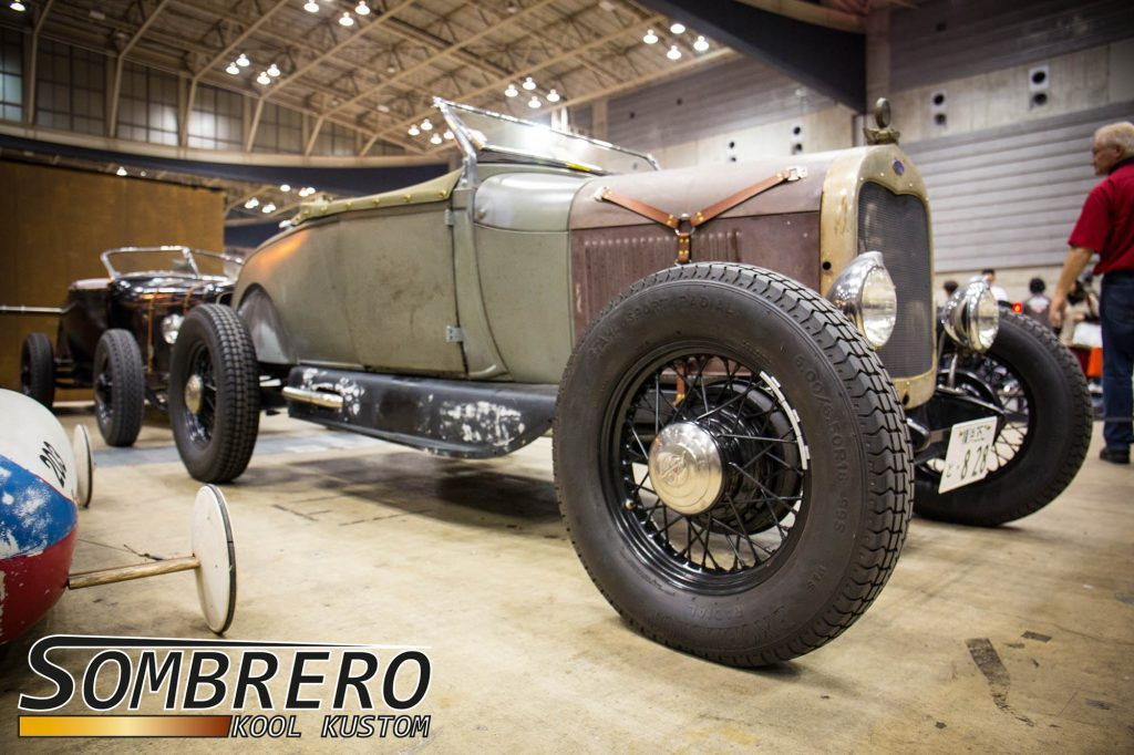 1928-29 Ford Model A Roadster, Spritzschutz, Hot Rod