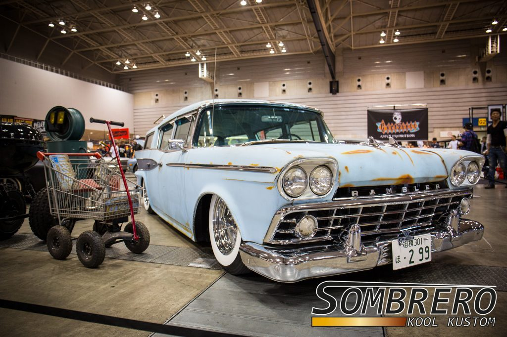1959 AMC Rambler Station Wagon, Patina, Airride, Kustom Car