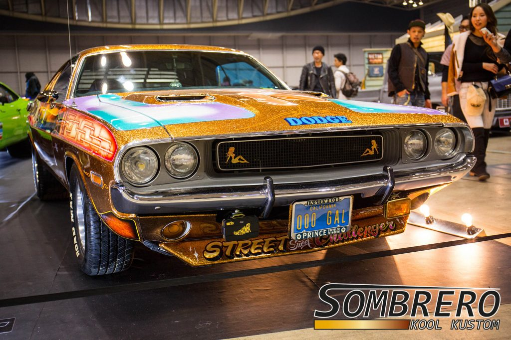 1970 Dodge Challenger, Muscle Car, Street Machine, Metalflake, Magic Powder