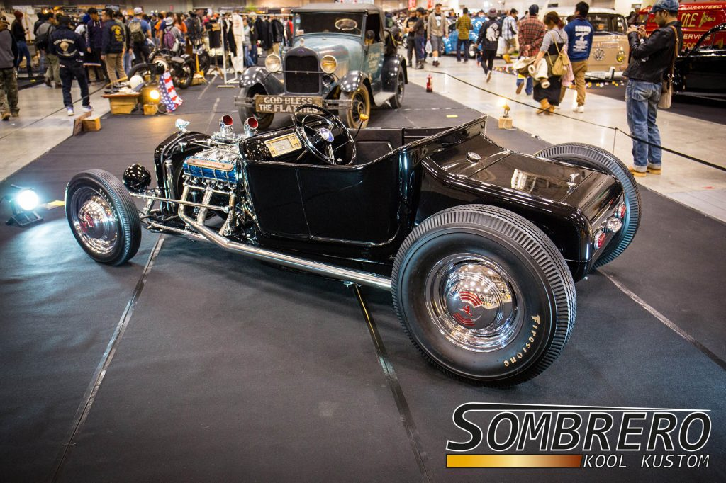 Ford Model T Roadster, Hot Rod, Turtle Deck