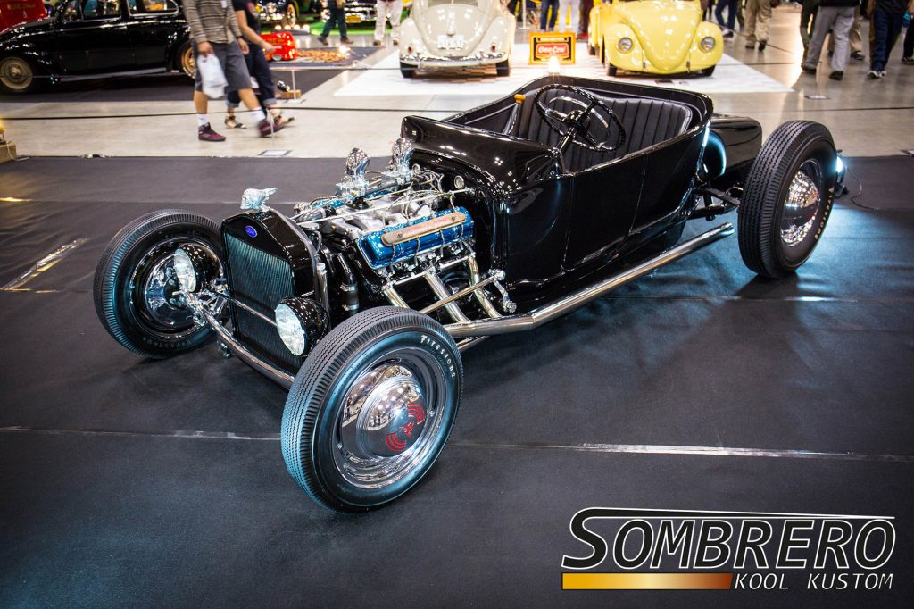 Ford Model T Roadster, Oldsmobile Rocket V8, Hot Rod