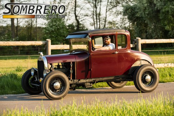 1929 Ford Model A, Farbe, Lackierung, Maroon, Thorne Brown