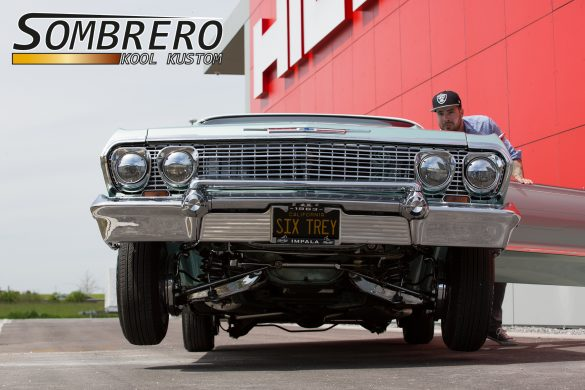 1963 Chevrolet Impala, Frontansicht, Hoppin Lowrider