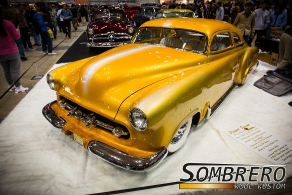 1952 Chevy Kustom, Desert Sunset, Gene Winfield, Fadeaway Paintjob