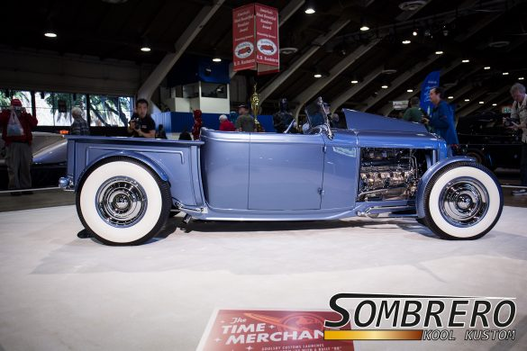 1932 Ford Roadster Pick-up, Time Merchant, Goolsby Customs, Oldsmobile Rocket V8