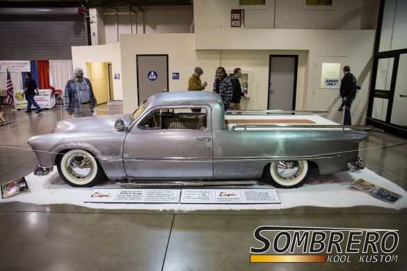 1950 Ford, The Capri, Ricks Auto Body, 1957 Plymouth Radkappen, Lakepipes, Top Chop