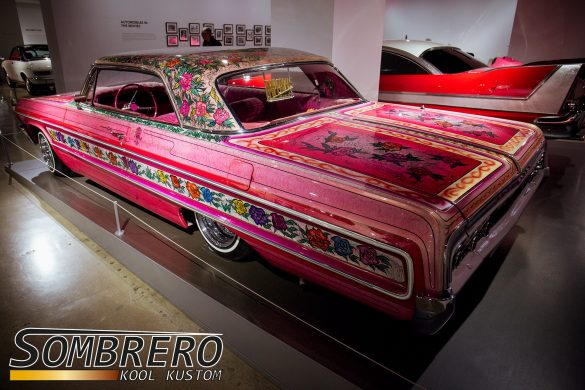 1964 Chevrolet Impala 2dr Hardtop Coupé, Gypsy Rose, Lowrider