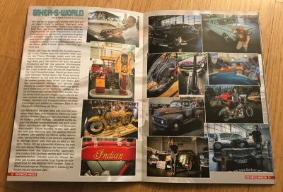 Customized Magazine Ausgabe 42 Biker-S-World Salzburg